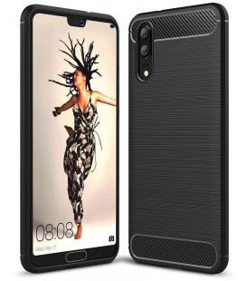 """Juodas dėklas Huawei P20 telefonui """"Tech-Protect"""""""