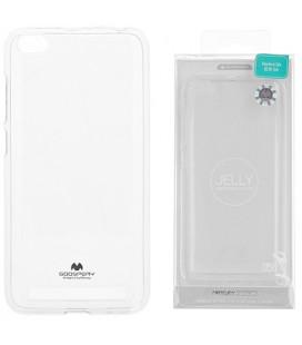 """Skaidrus silikoninis dėklas Xiaomi Redmi 5A telefonui """"Mercury Goospery Pearl Jelly Case"""""""