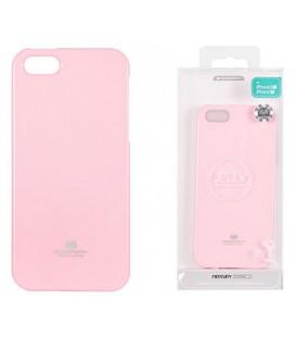 """Šviesiai rožinis dėklas Mercury Goospery """"Jelly Case"""" Apple iPhone 5/5s/SE telefonui"""