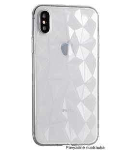 "Skaidrus dėklas Apple iPhone X/XS telefonui ""Diamond Case"""