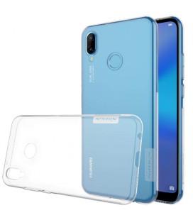 """Skaidrus silikoninis dėklas Huawei P20 Lite telefonui """"Nillkin Nature"""""""