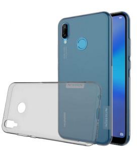 """Pilkas silikoninis dėklas Huawei P20 Lite telefonui """"Nillkin Nature"""""""