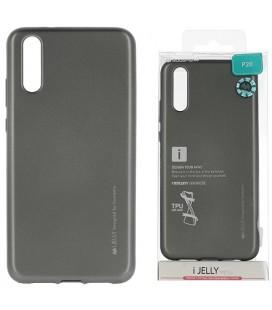 """Pilkas silikoninis dėklas Huawei P20 telefonui """"Mercury iJelly Case Metal"""""""