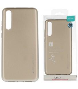 """Auksinės spalvos silikoninis dėklas Huawei P20 Pro telefonui """"Mercury iJelly Case Metal"""""""