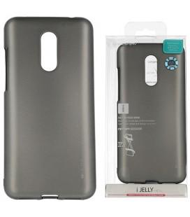 """Pilkas silikoninis dėklas Xiaomi Redmi 5 Plus telefonui """"Mercury iJelly Case Metal"""""""