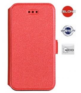 """Raudonas atverčiamas dėklas Huawei P20 telefonui """"Telone Book Pocket"""""""