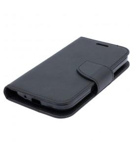 """Mėlynas atverčiamas dėklas su rėmeliu Apple iPhone X telefonui """"Book Vennus Z"""""""