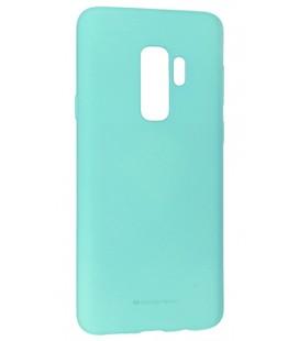 """Mėtos spalvos silikoninis dėklas Samsung Galaxy S9 Plus telefonui """"Mercury Soft Feeling"""""""