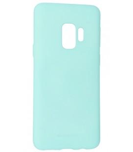 """Mėtos spalvos silikoninis dėklas Samsung Galaxy S9 telefonui """"Mercury Soft Feeling"""""""
