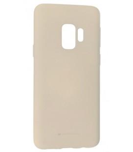 """Pilkas silikoninis dėklas Samsung Galaxy S9 telefonui """"Mercury Soft Feeling"""""""
