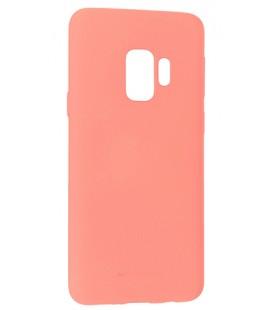 """Rožinis silikoninis dėklas Samsung Galaxy S9 telefonui """"Mercury Soft Feeling"""""""