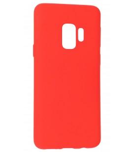 """Raudonas silikoninis dėklas Samsung Galaxy S9 telefonui """"Mercury Soft Feeling"""""""