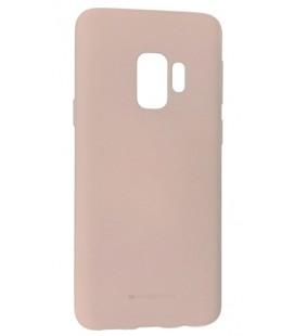 """Smėlio spalvos silikoninis dėklas Samsung Galaxy S9 telefonui """"Mercury Soft Feeling"""""""