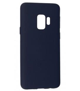 """Tamsiai mėlynas silikoninis dėklas Samsung Galaxy S9 telefonui """"Mercury Soft Feeling"""""""