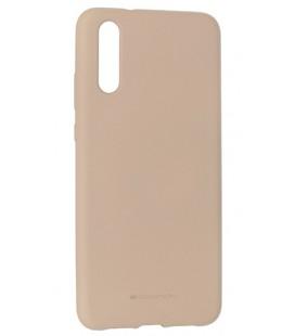 """Smėlio spalvos silikoninis dėklas Huawei P20 telefonui """"Mercury Soft Feeling"""""""
