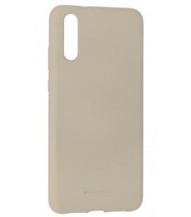 """Pilkas silikoninis dėklas Huawei P20 telefonui """"Mercury Soft Feeling"""""""