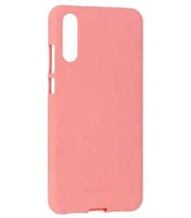 """Rožinis silikoninis dėklas Huawei P20 telefonui """"Mercury Soft Feeling"""""""