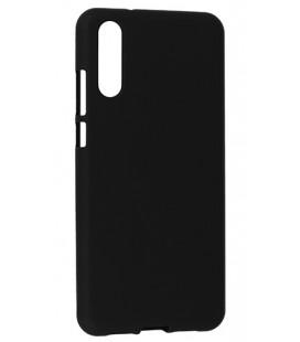 """Juodas silikoninis dėklas Huawei P20 telefonui """"Mercury Soft Feeling"""""""