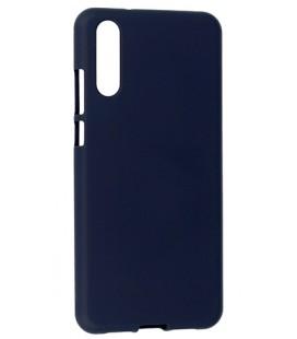 """Tamsiai mėlynas silikoninis dėklas Huawei P20 telefonui """"Mercury Soft Feeling"""""""