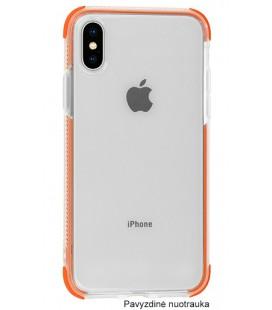 "Oranžinis silikoninis dėklas Apple iPhone X/XS telefonui ""Summer Case"""