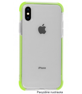 "Žalias silikoninis dėklas Apple iPhone X telefonui ""Summer Case"""