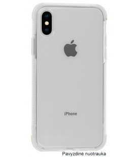 "Baltas silikoninis dėklas Apple iPhone X telefonui ""Summer Case"""