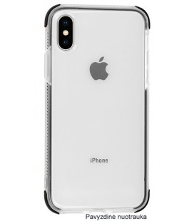 "Juodas silikoninis dėklas Apple iPhone X telefonui ""Summer Case"""