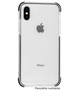"""Odinis juodas atverčiamas klasikinis dėklas Samsung Galaxy A8 Plus 2018 telefonui """"Book Special Case"""""""
