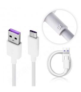 """Originalus baltas Huawei Type C - USB 3.1 laidas """"HL1289"""""""