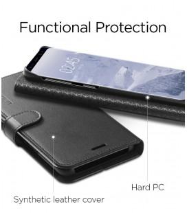 """Originalus tamsiai pilkas dėklas Huawei P10 telefonui """"Smart View Cover"""""""