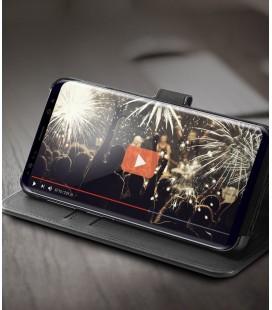 """Juodas 3D apsauginis grūdintas stiklas Samsung Galaxy A8 2018 telefonui """"Mocolo"""""""