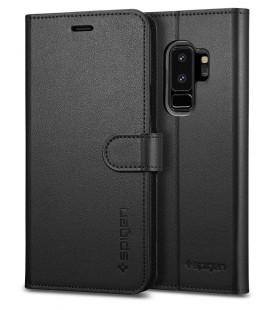 """Juodas 3D apsauginis grūdintas stiklas Samsung Galaxy S9 Plus telefonui """"Mocolo"""""""