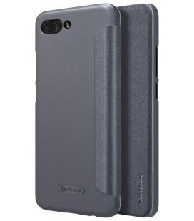 """Atverčiamas pilkas dėklas Huawei Honor 10 telefonui """"Nillkin Sparkle"""""""