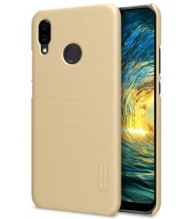 """Auksinės spalvos plastikinis dėklas Huawei P20 Lite telefonui """"Nillkin Frosted Shield"""""""