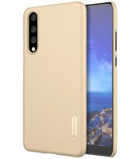 """Auksinės spalvos plastikinis dėklas Huawei P20 Pro telefonui """"Nillkin Frosted Shield"""""""