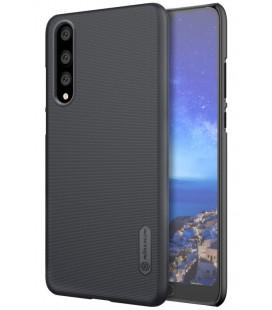 """Juodas plastikinis dėklas Huawei P20 Pro telefonui """"Nillkin Frosted Shield"""""""