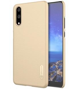 """Auksinės spalvos plastikinis dėklas Huawei P20 telefonui """"Nillkin Frosted Shield"""""""