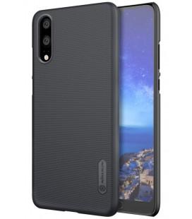 """Juodas plastikinis dėklas Huawei P20 telefonui """"Nillkin Frosted Shield"""""""