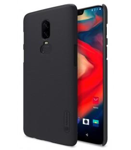 """Juodas dėklas Oneplus 6 telefonui """"Nillkin Frosted Shield"""""""