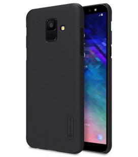 "Juodas dėklas Samsung Galaxy A6 2018 telefonui ""Nillkin Frosted Shield"""