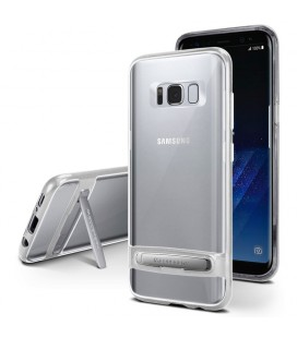 """Sidabrinės spalvos silikoninis dėklas Samsung Galaxy S8 Plus telefonui """"Mercury Goospery Dream Bumper"""""""