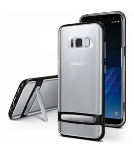 """Juodas silikoninis dėklas Samsung Galaxy S8 Plus telefonui """"Mercury Goospery Dream Bumper"""""""