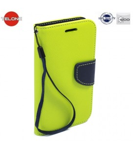 """Žalias atverčiamas dėklas Huawei P Smart telefonui """"Telone Fancy"""""""