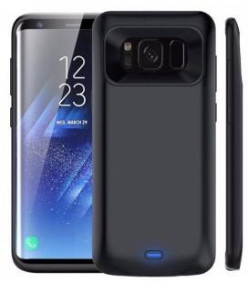 """Juodas dėklas Samsung Galaxy A8 2018 telefonui """"Hybrid Armor Case"""""""