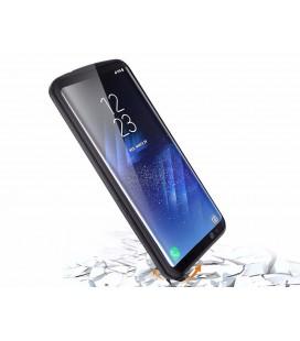 """Auksinės spalvos dėklas Samsung Galaxy A8 2018 telefonui """"Hybrid Armor Case"""""""