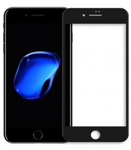 """Lenktas juodas apsauginis grūdintas stiklas Apple iPhone 7 Plus telefonui """"Nillkin 3D AP+ Pro"""""""
