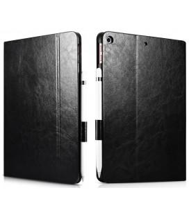 """Juodas atverčiamas dėklas Apple iPad 9.7"""" 2017/2018 planšetei """"iCarer Xoomz"""""""