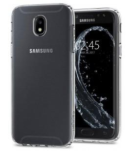 "Skaidrus dėklas su blizgučiais Samsung Galaxy S9 telefonui ""Spigen Liquid Crystal Glitter"""