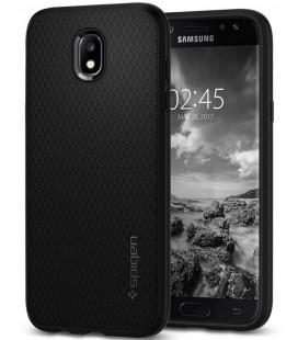 """Juodas dėklas Samsung Galaxy J5 2017 telefonui """"Spigen Liquid Air"""""""