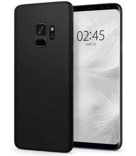 "Juodas dėklas Samsung Galaxy S9 telefonui ""Spigen Airskin"""